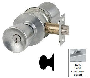 Schlage A170 Single Dummy Trim Tulip Knob Lock A Series