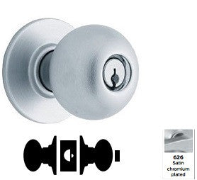 Schlage A30D Patio Orbit Knob Lock A Series