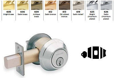 Schlage B660 Single Cylinder Deadbolt