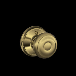 Schlage Georgian Knob Antique Brass