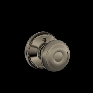 Schlage Georgian Knob Antique Pewter