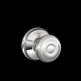 Schlage Georgian Knob Bright Chrome