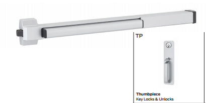 Von Duprin 22TP, 22TP-Fire Rated Rim Exit Device Von Duprin 22 Series