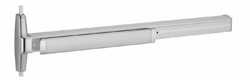 Von Duprin 3347A-EO-F/3547A-EO-F Series Fire Exit Concealed Vertical Rod Device