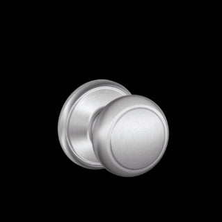 Schlage Andover Knob Satin Chrome