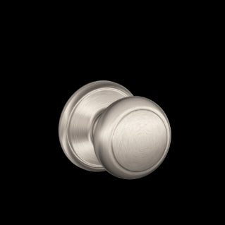 Schlage Andover Knob F Series Passage, Privacy, Entrance, & Dummy
