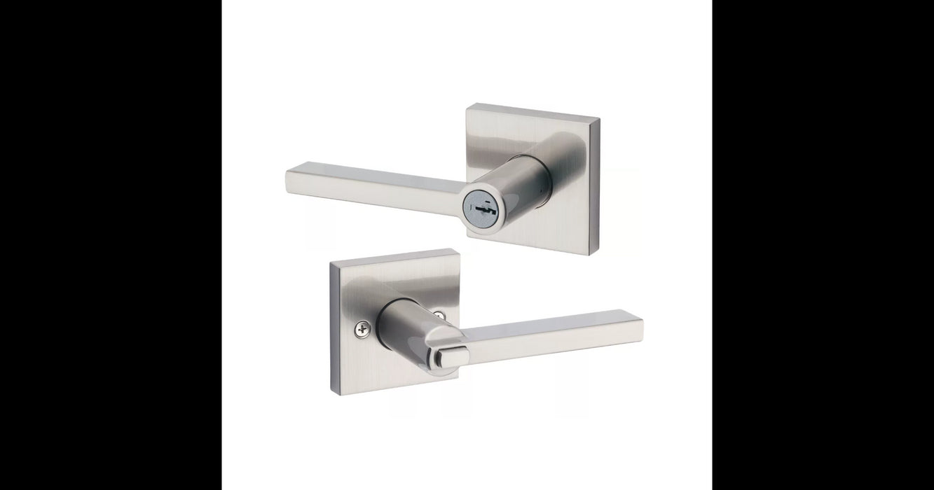 Kwikset Halifax Square Lever Lock Passage, Privacy, Entrance & Dummy