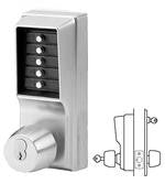 Simplex 1021 Cylindrical Lock, Combination Entry, with Key Override .1000 Series - Barzellock.com