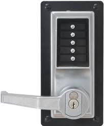 Simplex LP1020 Exit Trim Lock with Lever, with Key Override LP1000 Series