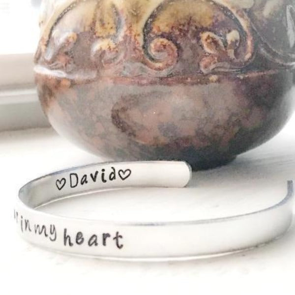 Miscarriage Gifts Loss of Child - Forever In My Heart Jewelry