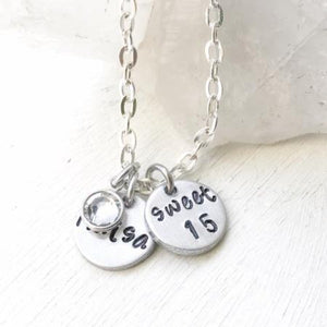 Gift Idea for 15 Year Old Daughter - Teenage Girl - Necklace