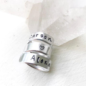 Pet Loss Gifts - Engraved Ring Wraps
