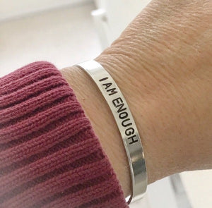 Bracelets With Sayings On Them  {You Personalize}