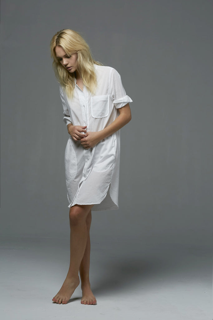 Cotton Voile - POCKET SHIRTDRESS