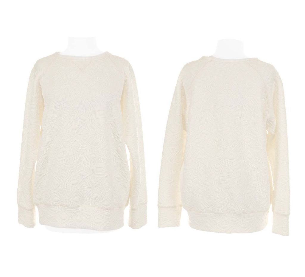 GEO JACQUARD CYNJIN SWEAT SHIRT