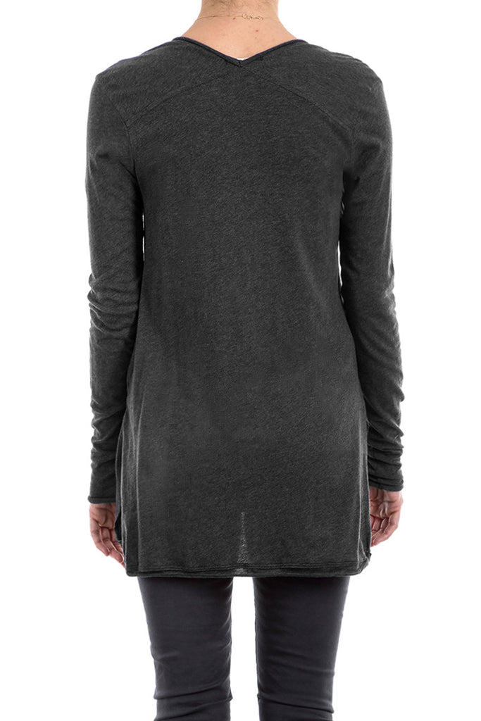 Cotton Cashmere L/SLV V-NECK