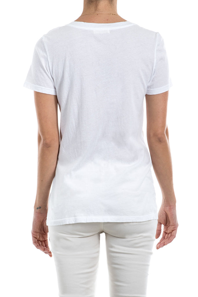 Micro Jersey Scoop Neck Tee