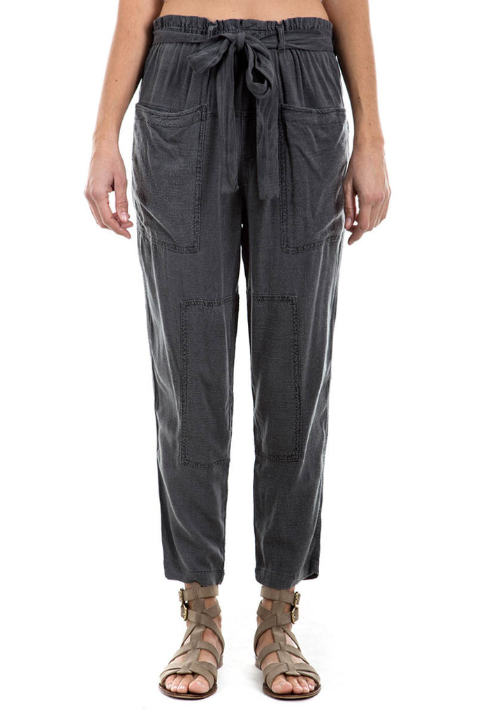 Slub Cross Hatch - PAPERBAG TROUSERS