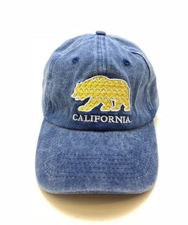 CA Aztec Bear Denim Cap