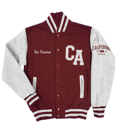 San Francisco CA Varsity Jacket