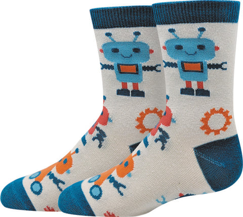 Robot Kids Socks