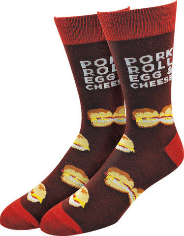 Pork Roll Egg & Cheese Socks