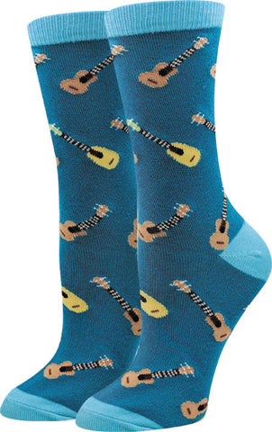 Ladies Ukulele Socks