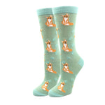Fox Dot Socks