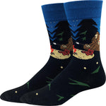 Campfire Bigfoot Socks
