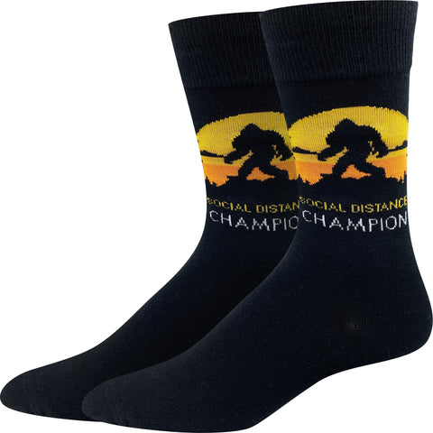 Social Distance Champion Socks
