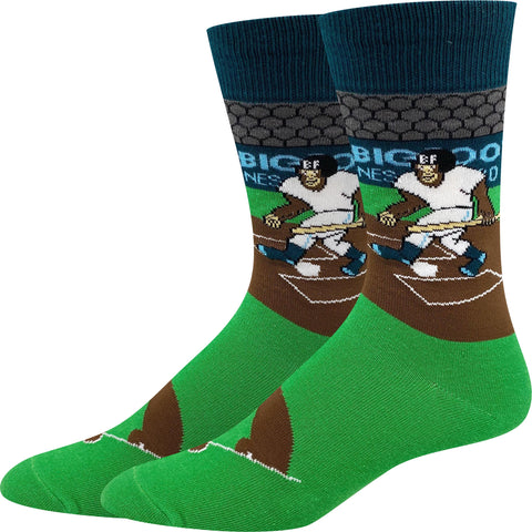 Baseball Bigfoot Socks