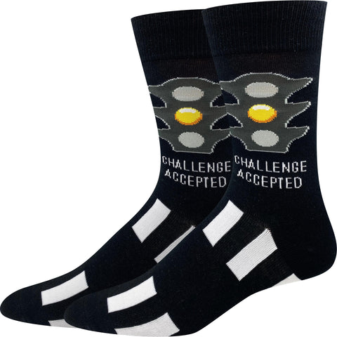 Challenge Accepted Socks