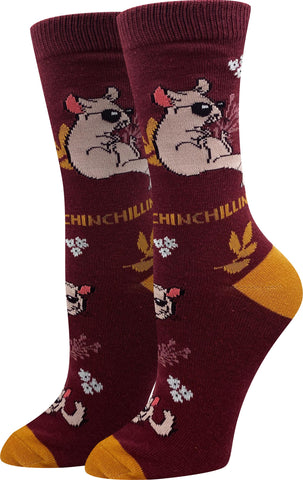 Chinchillin' Socks