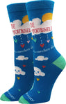 Be Yourself, Somewhere Else Socks