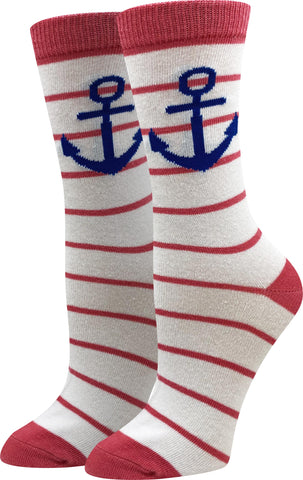 Nautical Anchor Socks