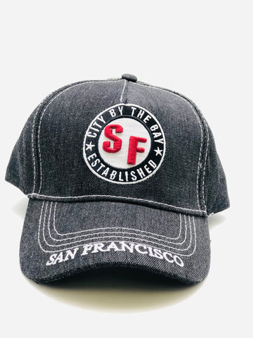 SF Medallion Snap Back Cap