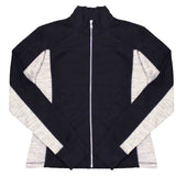 Ladies Cadet Color Fleece Jacket