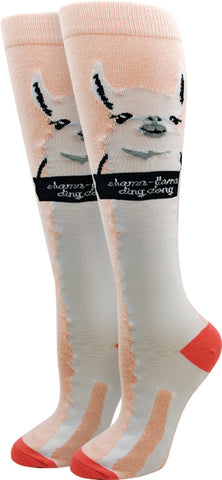 Shama Llama Knee High Socks