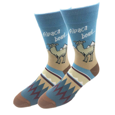 Alpaca Bowl Socks