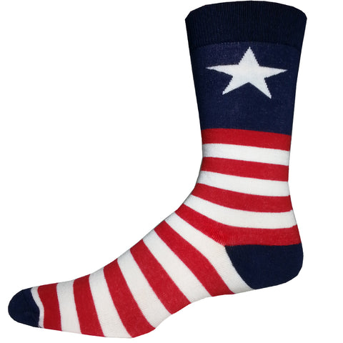 XL Captain USA Socks