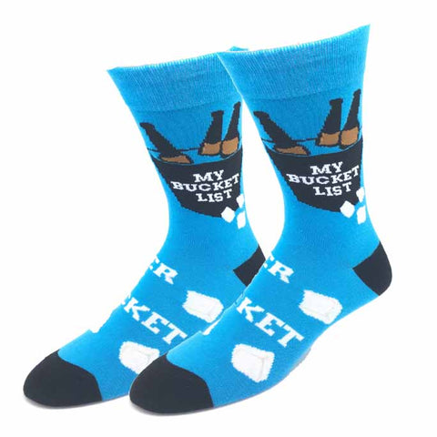 Bucket List Socks