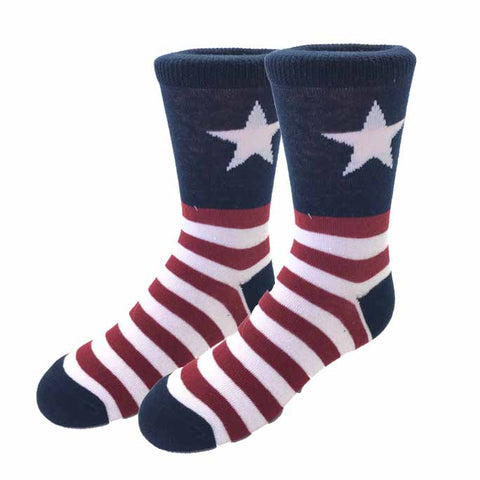 Lil' Captain USA Socks