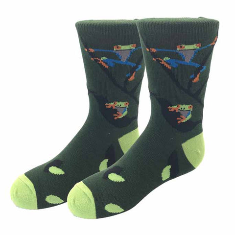 Frog Kids Socks