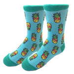 Retro Pineapple Kids Socks