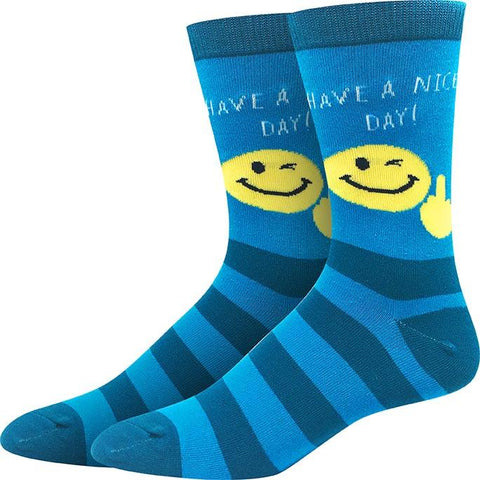 Have a Nice Day Socks