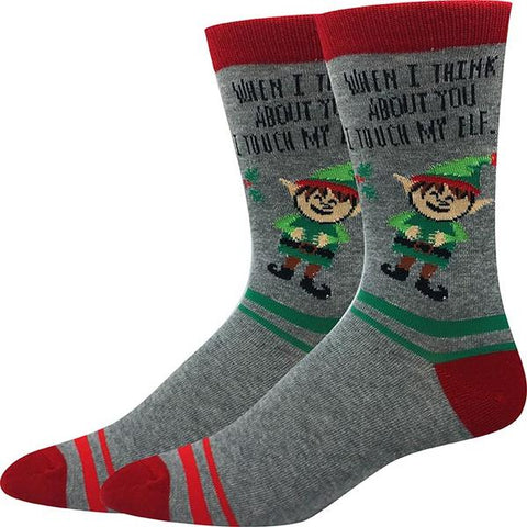 Touch My Elf Socks