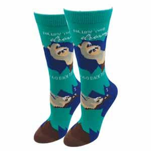 Ladies Sloth Socks
