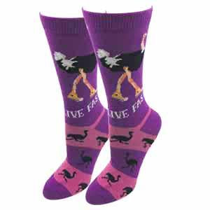 Ladies Ostrich Socks