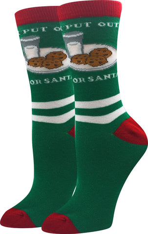 Put Out For Santa Socks