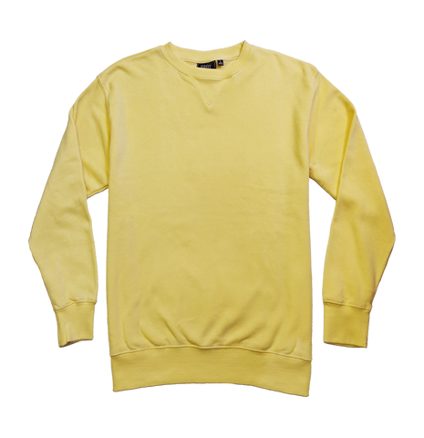 Vintage Wash Crew Neck Sweater